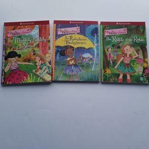 Set of 3 American Girl Wellie Wishers Books